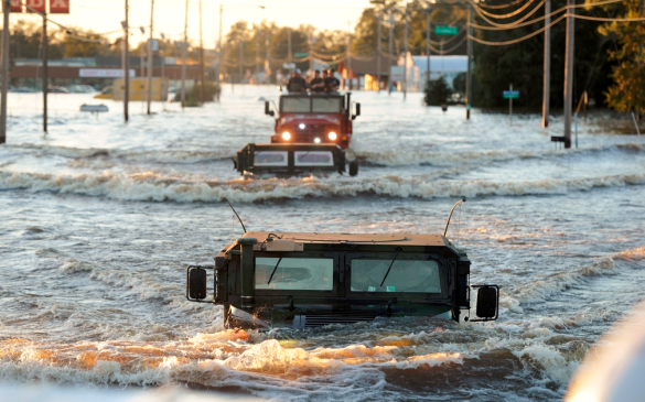 North Carolina flooding Hurricane Matthew_FEMA photo