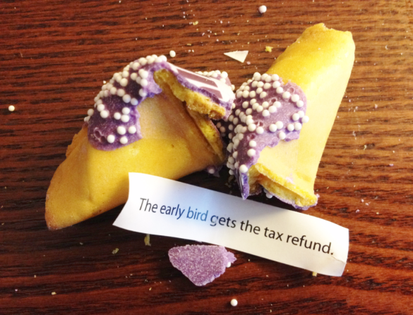 Tax filing refund fortune cookie_Ally_FinCon16_IMG_3366