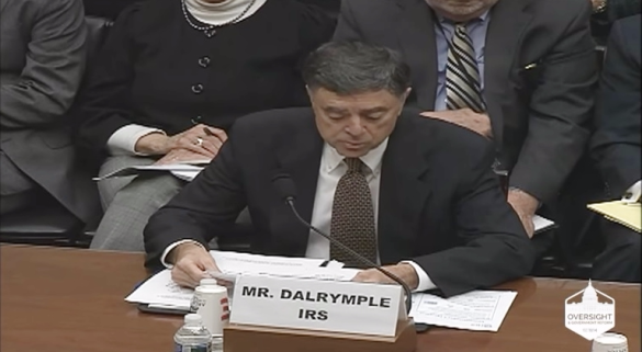 IRS Deputy Commissioner John Dalrymple testifying_House Government Operations subcommittees_8March2017