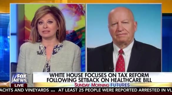 WM Chair Kevin Brady talks tax reform with Maria Bartiromo Fox Sunday Morning Futures
