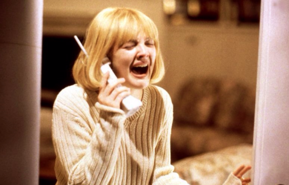 Drew Barrymore in original Scream movie_Photo via Everett