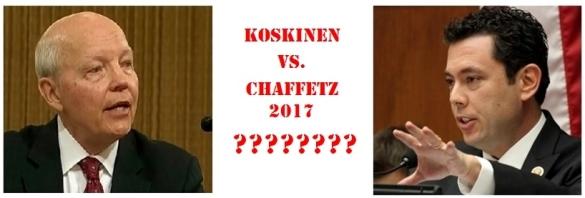 Koskinen vs Chaffetz