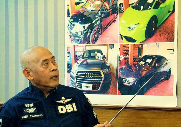 Thai officials work with UK to stop international stolen car ring