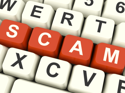 Scam keyboard by stuartmiles99 via iStock_000019459874XSmall