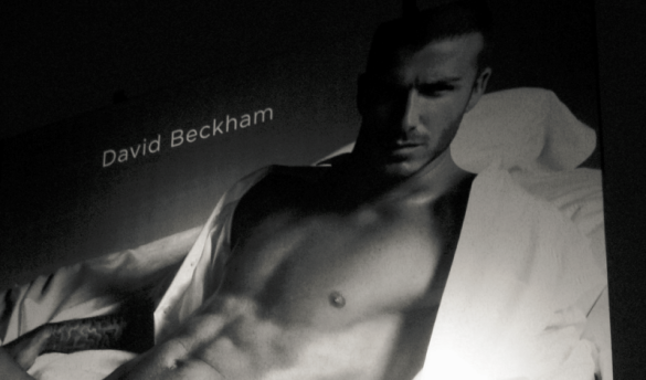 David Beckham billboard_torbakhopper Flickr CC