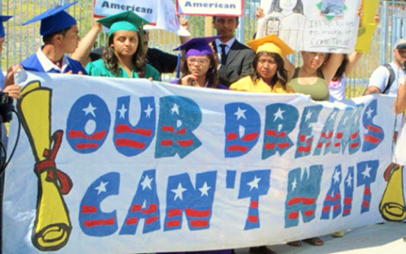 Dreamers protest 2014