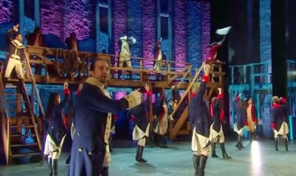Yorktown from Hamilton Tonys 2016 performance YouTube video screenshot