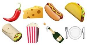 Emojis food