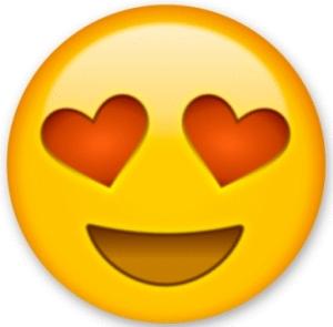 Heart eyes emoji_I love my tax professional