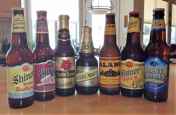 some of my favorite Texas beers