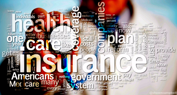 Medical insurance word cloud graphic by Shawn Campbell via Flickr Creative Commons