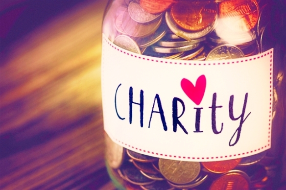 Charity collection jar